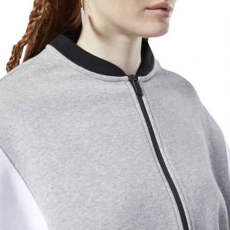 Women's sports jacket - Reebok COLOR BLOCKED TRACKSUIT TOP - 7