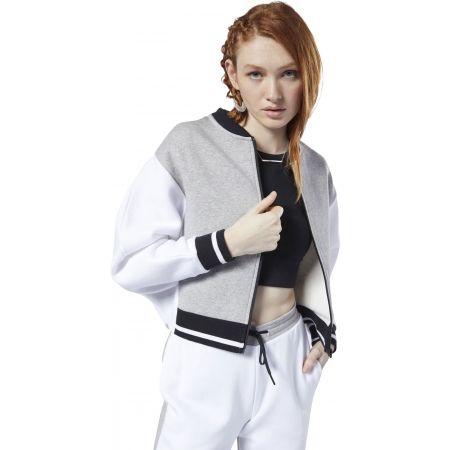 Women's sports jacket - Reebok COLOR BLOCKED TRACKSUIT TOP - 5