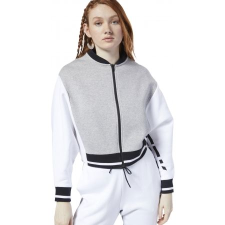 Women's sports jacket - Reebok COLOR BLOCKED TRACKSUIT TOP - 3
