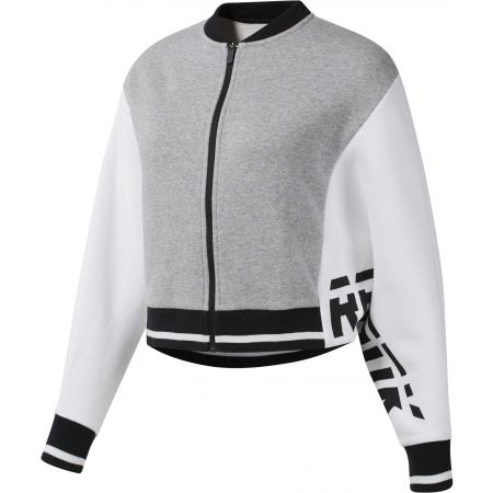Women's sports jacket - Reebok COLOR BLOCKED TRACKSUIT TOP - 1