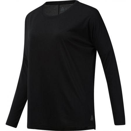 Reebok WORKOUT READY SUPREMIUM LONG SLEEVE - Dámske tričko s dlhým rukávom