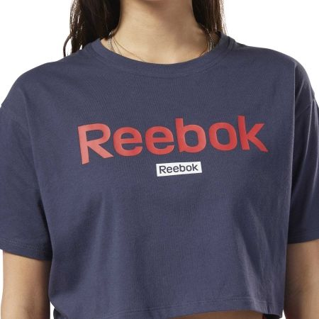 Dámske tričko - Reebok LINEAR LOGO CROP TEE - 6