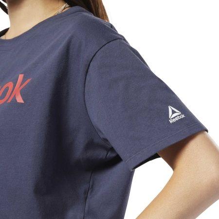 Dámske tričko - Reebok LINEAR LOGO CROP TEE - 7
