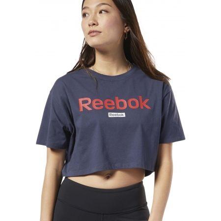 Dámske tričko - Reebok LINEAR LOGO CROP TEE - 3