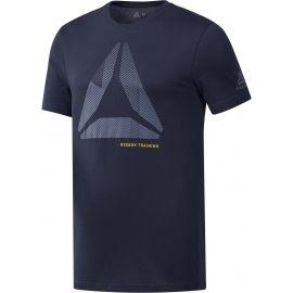 Reebok SHIFT BLUR TEE - Pánske tričko