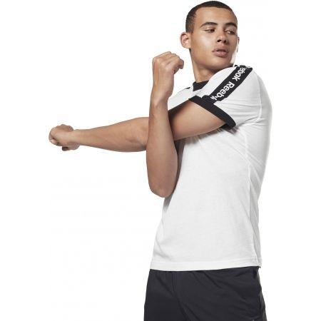 Men's T-shirt - Reebok TE BL SS GRAPHIC TEE - 4