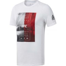 Reebok UFC FG TEXT TEE - Мъжка тениска