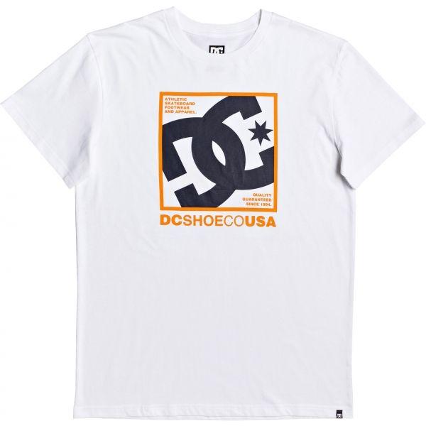 DC MAGNUM CONTACT SS bílá XL - Pánské tričko