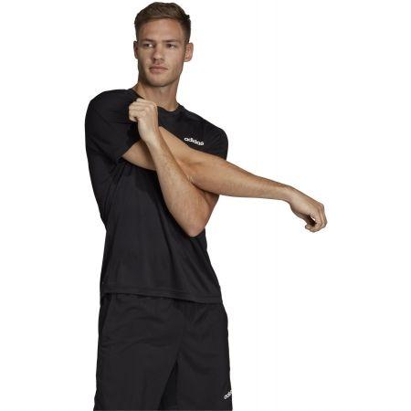 Мъжка тениска - adidas DESIGN2MOVE TEE PLAIN - 6