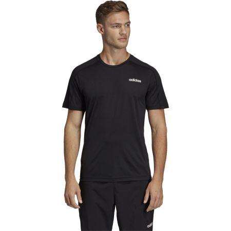 Мъжка тениска - adidas DESIGN2MOVE TEE PLAIN - 4