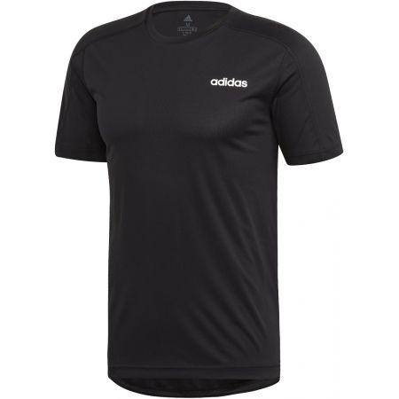 Мъжка тениска - adidas DESIGN2MOVE TEE PLAIN - 1