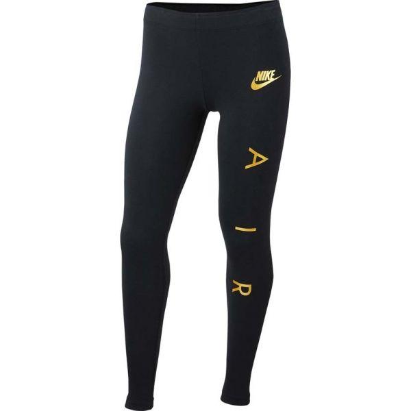 Nike NSW TGHT FAVORITES AIR1 černá XS - Dívčí legíny