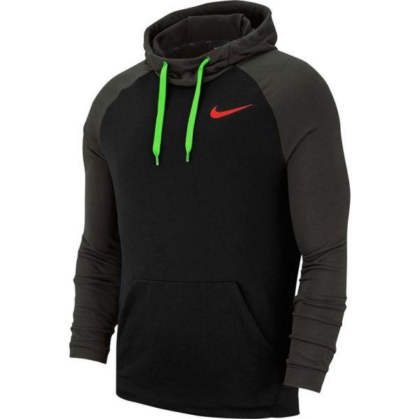 Nike DRY HOODIE PO FLEECE černá 2XL - Pánská tréninková mikina