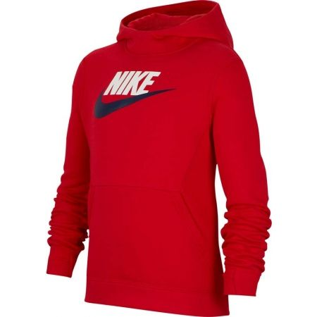 Nike NSW PO HOODIE CLUB FLC HBR - Chlapecká mikina