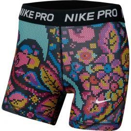 Nike NP BOY SHORT PRINT FEMME - Șort de fete