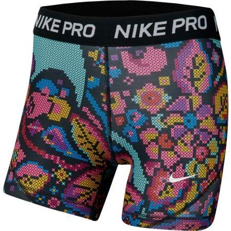 Nike NP BOY SHORT PRINT FEMME - Dívčí šortky