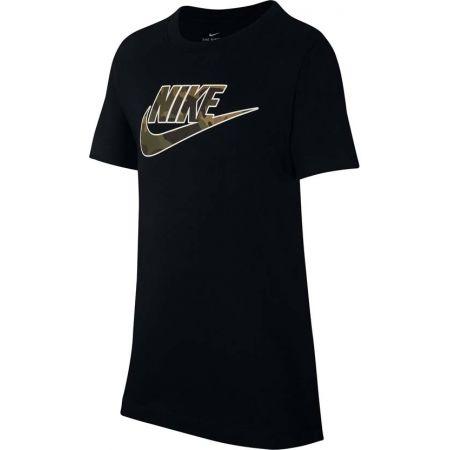 Nike NSW TEE FUTURA FILL - Chlapčenské tričko