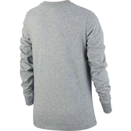 Dívčí tričko - Nike NSW TEE LS ESSNT FUTURA HOOK - 2