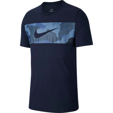 Pánské tričko - Nike DRY TEE CAMO BLOCK - 1