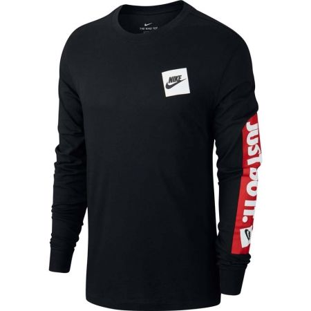 Pánske tričko - Nike NSW LS TEE JDI BMPR - 1