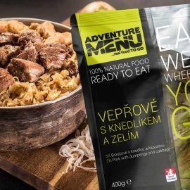 ADVENTURE MENU BRAVČOVÉ S KNEDĽOU A KAPUSTOU - Outdoorová strava