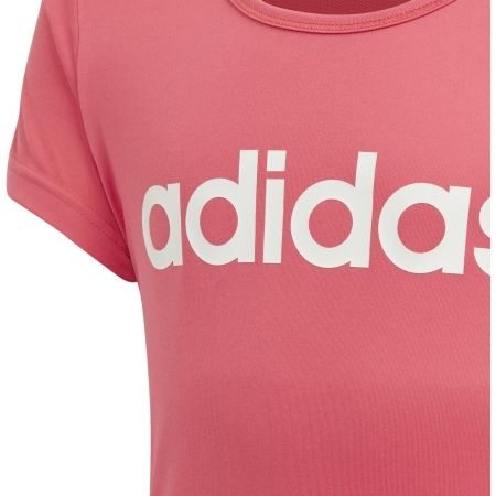 Тениска за момичета - adidas YG C TEE - 3