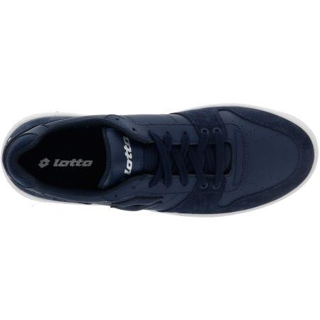 Pánska voľnočasová obuv - Lotto BASKET LOW NU - 4