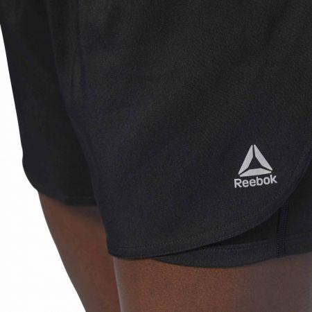 Дамски спортни къси панталони - Reebok 2-IN-1 SHORT - 7