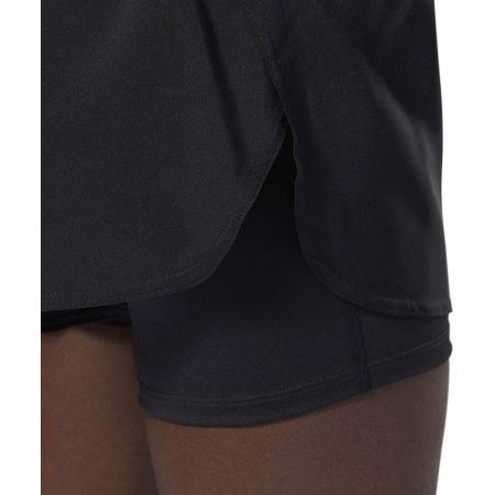 Дамски спортни къси панталони - Reebok 2-IN-1 SHORT - 8
