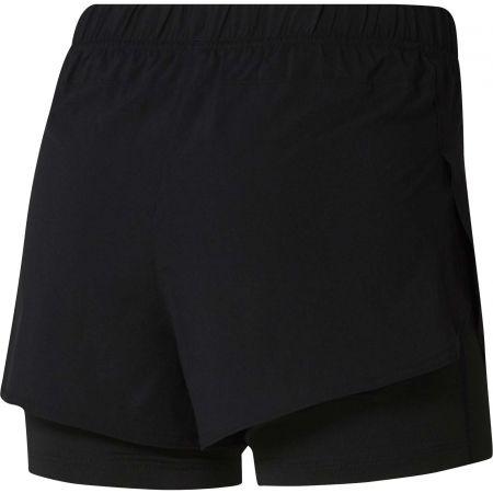 Дамски спортни къси панталони - Reebok 2-IN-1 SHORT - 2