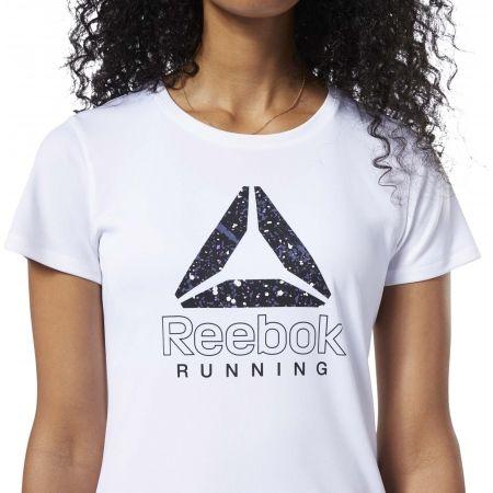 Dámské běžecké tričko - Reebok RUNNING ESSENTIALS GRAPHIC TEE - 6