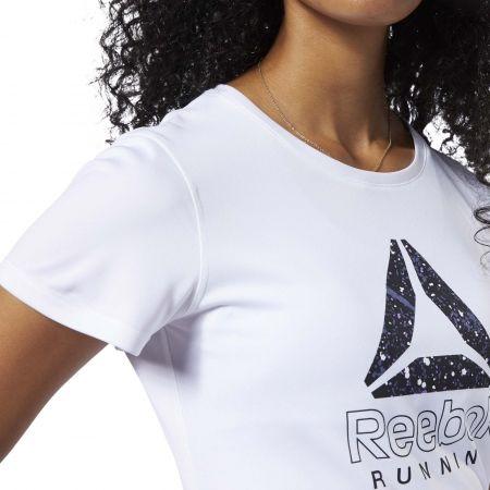 Dámské běžecké tričko - Reebok RUNNING ESSENTIALS GRAPHIC TEE - 7