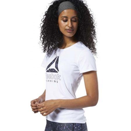 Dámské běžecké tričko - Reebok RUNNING ESSENTIALS GRAPHIC TEE - 4