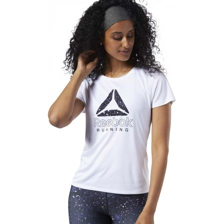 Dámské běžecké tričko - Reebok RUNNING ESSENTIALS GRAPHIC TEE - 3