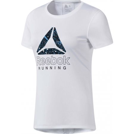 Dámske bežecké tričko - Reebok RUNNING ESSENTIALS GRAPHIC TEE - 1