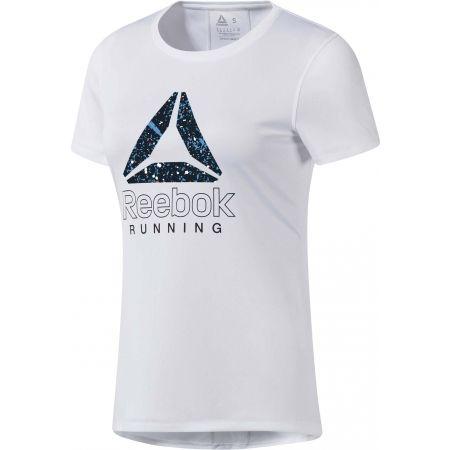 Reebok RUNNING ESSENTIALS GRAPHIC TEE - Dámské běžecké tričko
