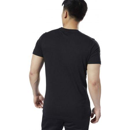 Tricou bărbați - Reebok REEBOK STACKED - 5