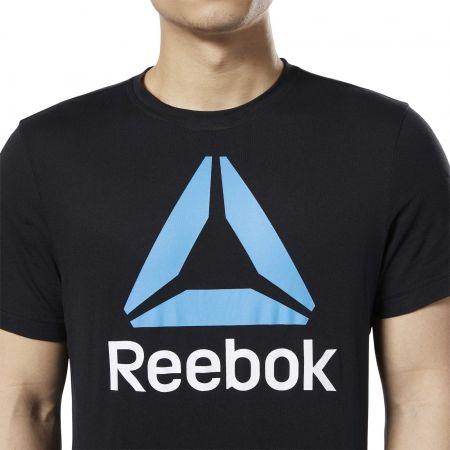 Tricou bărbați - Reebok REEBOK STACKED - 6
