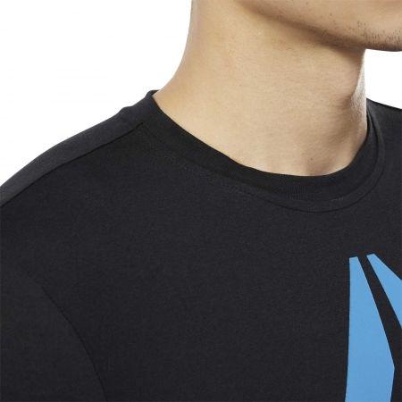 Tricou bărbați - Reebok REEBOK STACKED - 7