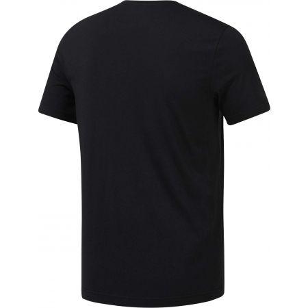 Tricou bărbați - Reebok REEBOK STACKED - 2