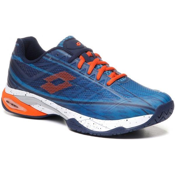 Lotto MIRAGE 300 SPD modrá 11 - Pánská tenisová obuv