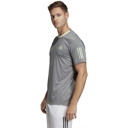 Pánské triko - adidas CLUB 3 STRIPES TEE - 6
