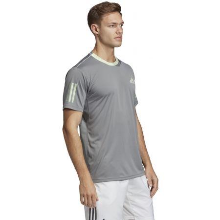 Pánské triko - adidas CLUB 3 STRIPES TEE - 5