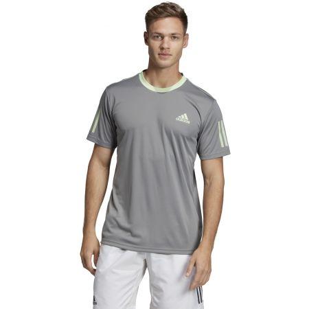 Pánské triko - adidas CLUB 3 STRIPES TEE - 4
