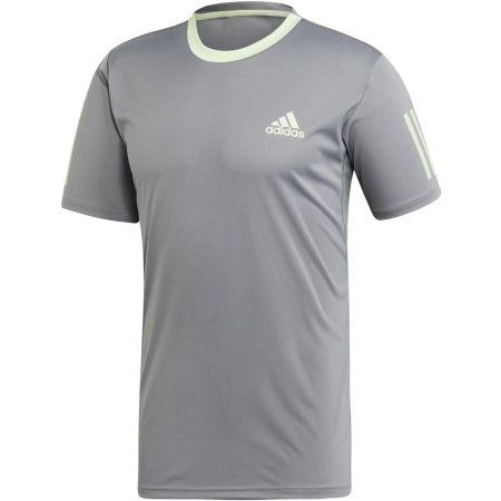 adidas CLUB 3 STRIPES TEE - Pánske tričko