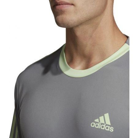 Pánské triko - adidas CLUB 3 STRIPES TEE - 8