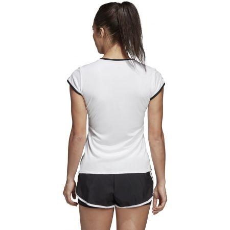 Dámské tenisové triko - adidas CLUB 3 STRIPES TEE - 7