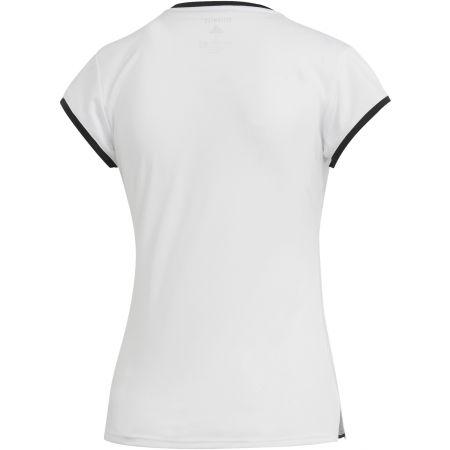 Dámské tenisové triko - adidas CLUB 3 STRIPES TEE - 2