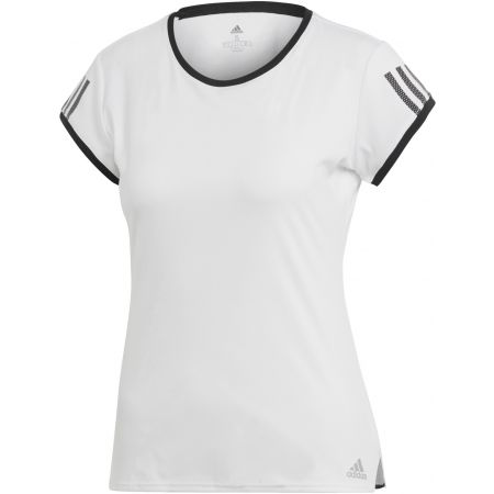 adidas CLUB 3 STRIPES TEE - Dámské tenisové triko