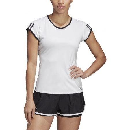 Dámské tenisové triko - adidas CLUB 3 STRIPES TEE - 3